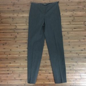 J. McLaughlin Gray Stretch Career Pants